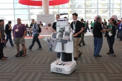 En robot på Google IO 2012