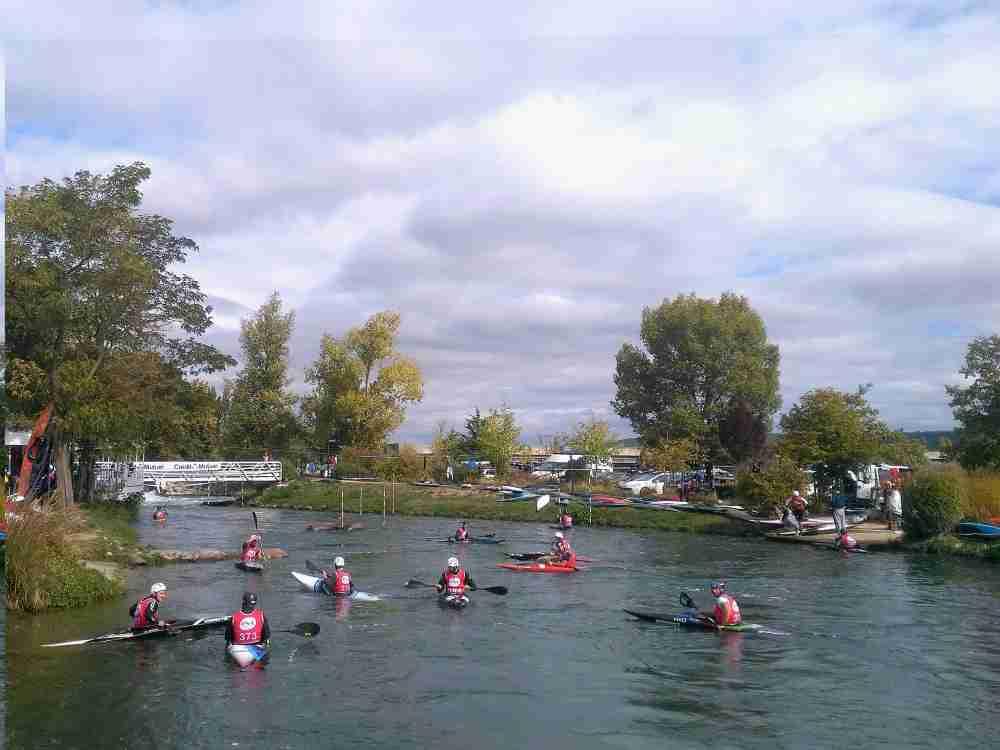 VAULX-EN-VELIN | Le 19° sélectif régional de kayak slalom a fait le plein