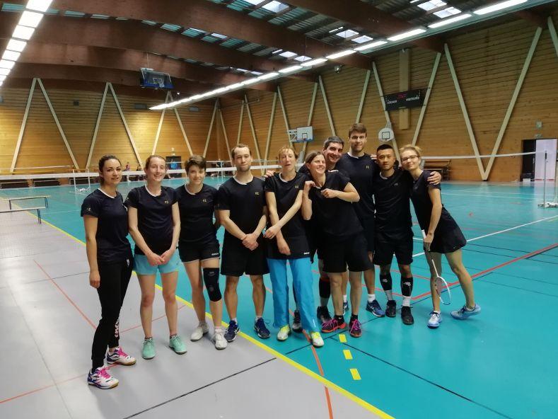 VILLEURBANNE | Le Badminton Club accède à la régionale 2