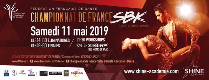 CHASSIEU | Championnat de France de Salsa, Bachata, Kizomba