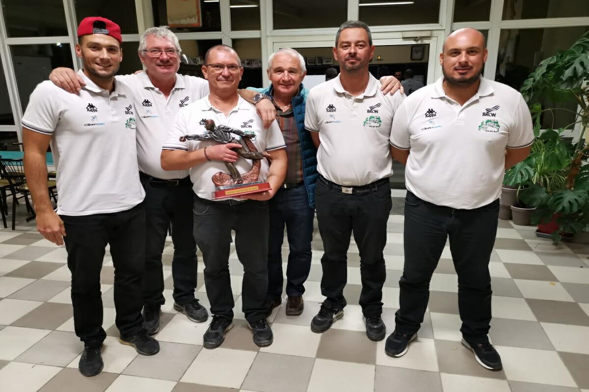 BRON | Une quadrette bouliste vainqueur du National du Puy-en-Velay