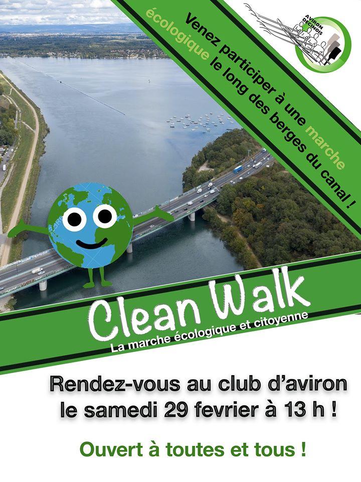 DECINES | Clean Walk 2020 avec l'Aviron Décinois