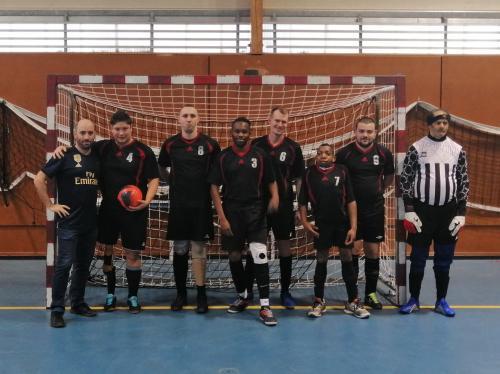 LYON | Carton plein pour l'équipe de Football à 5 d'Handisport Lyonnais