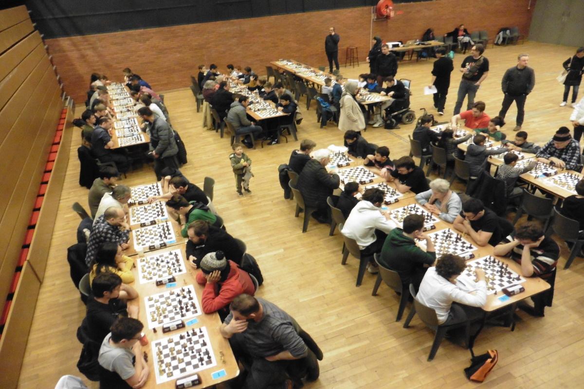 VAULX-EN-VELIN | 83 joueurs au rapide survivor d'échecs