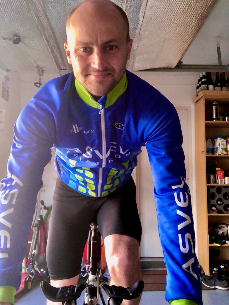 VILLEURBANNE > Nicolas Evrard « au niveau sport c'est plus compliqué «