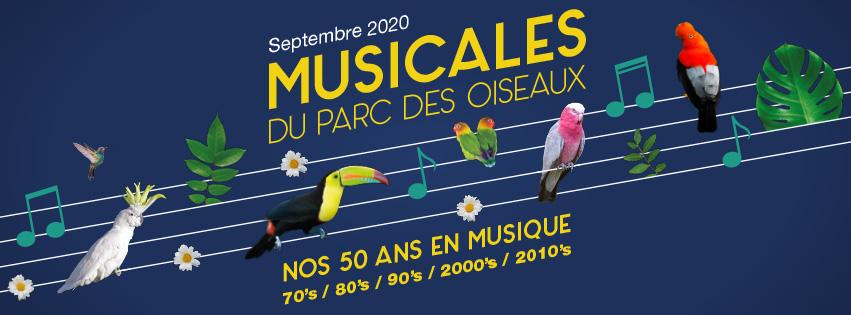 AIN | Musicales du Parc des oiseaux > 1° concert post confinement