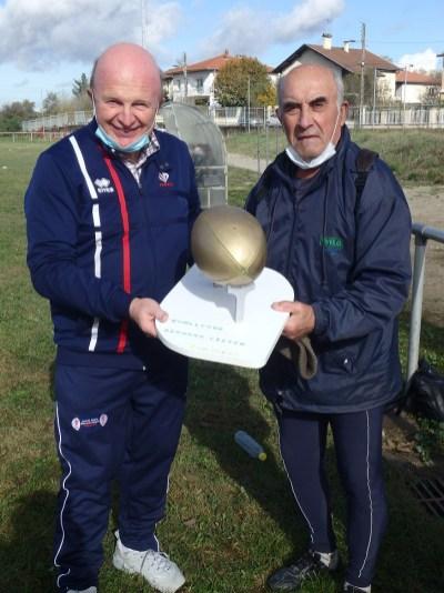J. Cavezzan et E. Dusseigneur présentent le Trophée Bernard Vizier