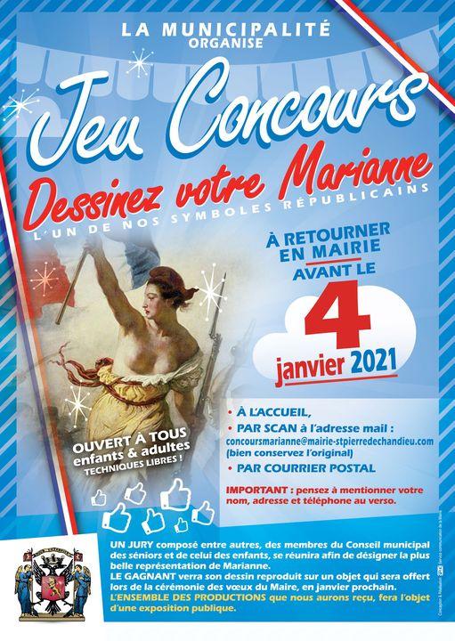 St-Pierre-de-Chandieu   «Dessinez votre Marianne»
