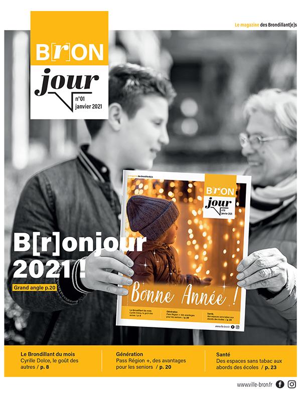 «B[r]onjour» le nouveau magazine municipal est né !