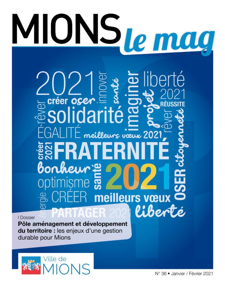 MIONS | Le Mag de Janvier-Février 2021 est sorti