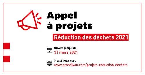 Métropole de Lyon | Appel à projets / réduction déchets