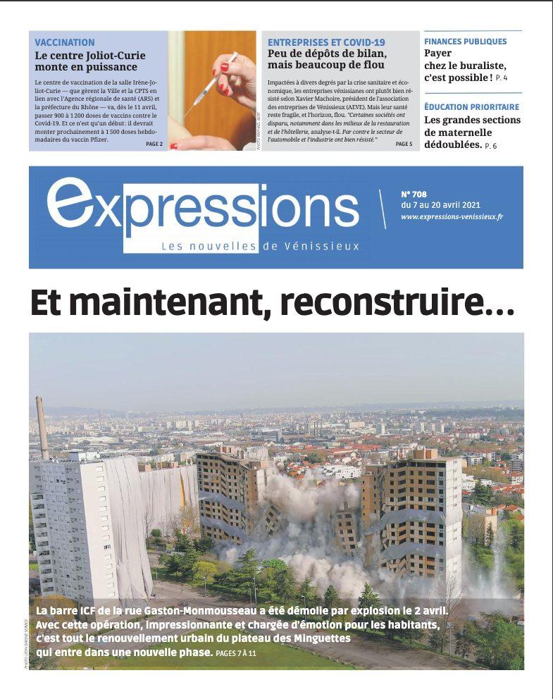 VENISSIEUX | Sortie du n° 708 d'Expressions