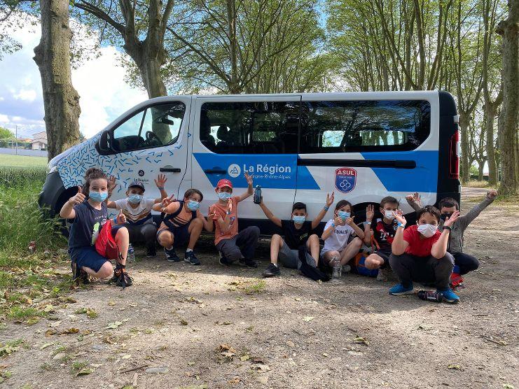 VILLEURBANNE   ASUL > un nouveau véhicule grâce à la Région Auvergne-Rhône-Alpes