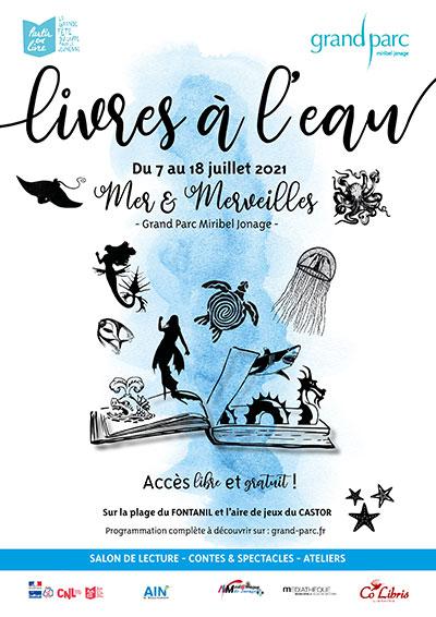 MIRIBEL-JONAGE   « Livres à l'eau » salon de lecture et animations en plein-air