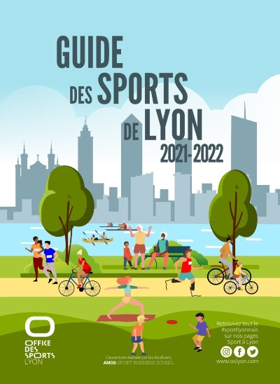 LYON   Guide des sports pour la saison 2021-2022