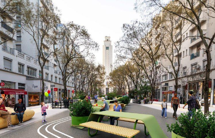 VILLEURBANNE | L'avenue Henri-Barbusse poursuit sa transformation