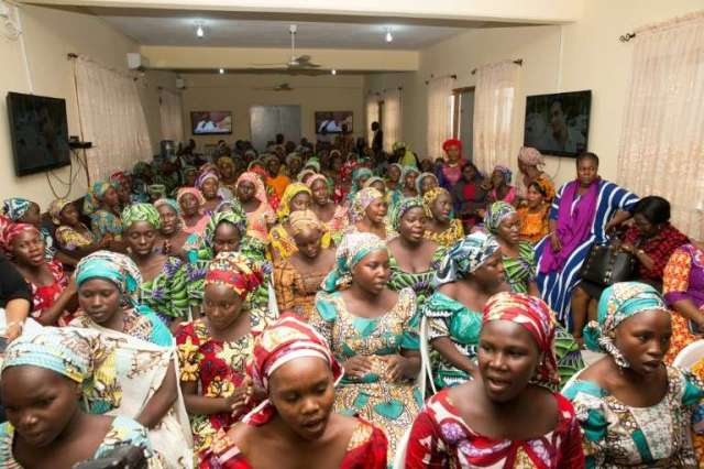 •Abducted Chibok girls
