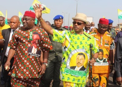 Image result for Victor Oye and Obiano