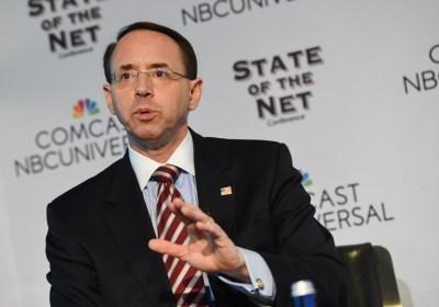 NYT: Rosenstein Curtailed Counterintelligence Probe Into Trump's Russia Ties