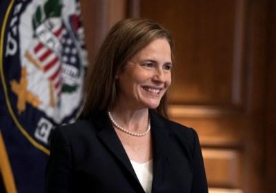 Senate Republicans vote to advance Supreme Court nomination of Amy Coney Barrett