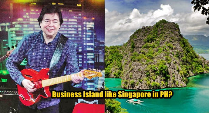 Economic Adviser RJ Jacinto business island