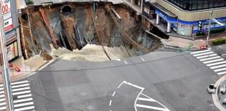 Giant Sinkhole