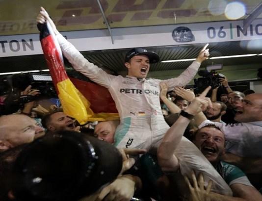 Formula One champion Nico Rosberg resigns.