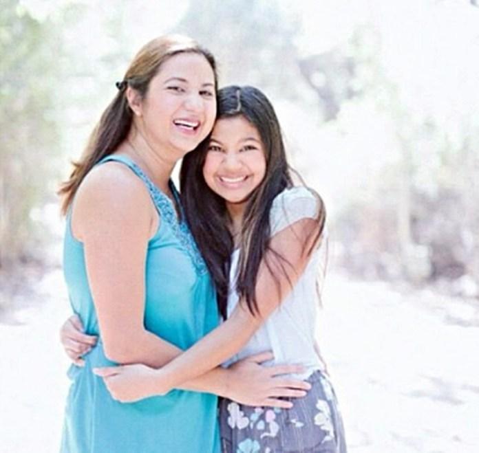 Bunny Paras and daughter Moira