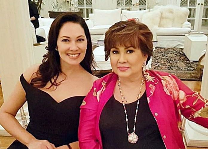 Ruffa Gutierrez and Annabelle Rama