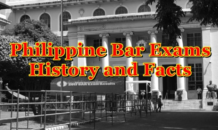 Bar Exams in the Philippines, History and Facts