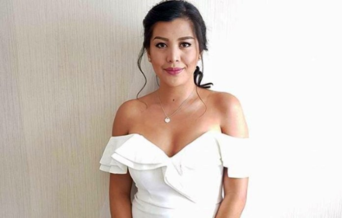 Bridal gown of Rich Asuncion