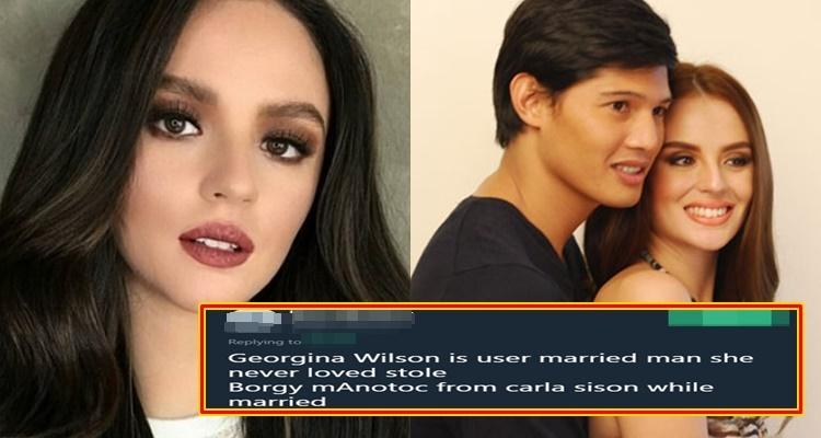 georgina wilson dating history