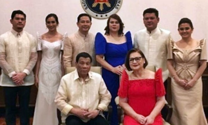 Fashion style of Duterte family during SONA 2018