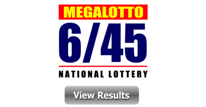 6 45 Mega Lotto Winner