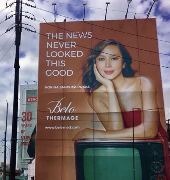 Korina Sanchez Belo Endorser