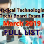 medtech full list