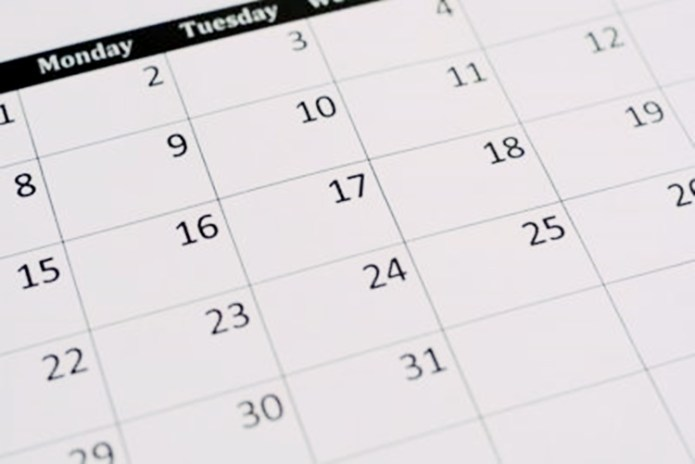 Holidays April 2019 Calendar