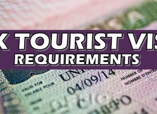 UK Tourist Visa Requirements