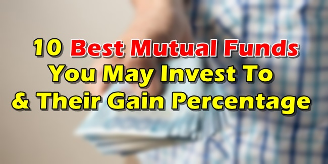 Best Mutual Funds Philippines - 10 Mutual Funds w/ High Gain