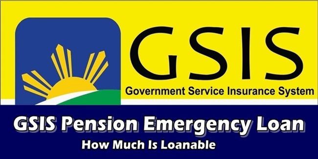 GSIS Pension Emergency Loan