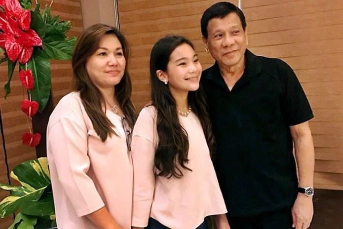 Pres. Rodrigo Roa Duterte, Honeylet Avanceña, Kitty Duterte