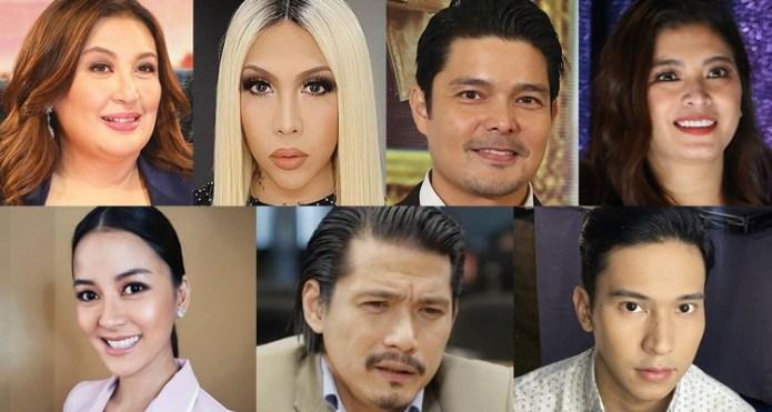 election 2019 celebrities endorsing senators