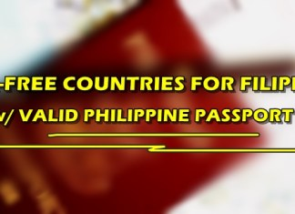 Countries Visa-Free For Filipinos Valid Philippine Passport