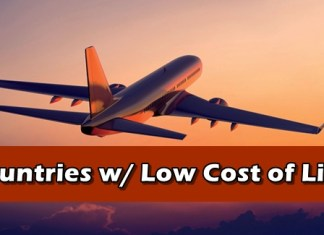 Countries with low cost of living