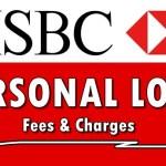 HSBC Loan Fees