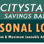 Citystate Bank Personal Loan