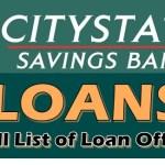 Citystate Savings Bank Loans