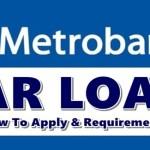 Metrobank Car Loan Apply