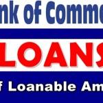 Bank of Commerce Loan