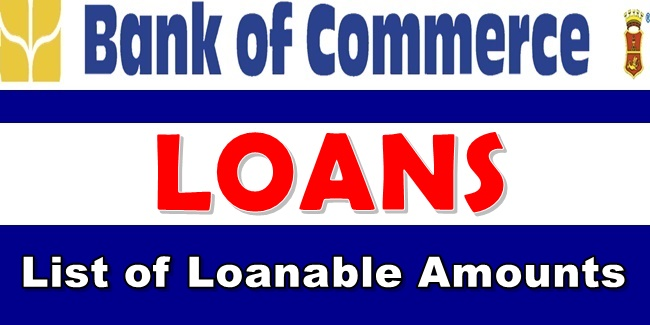Bank of Commerce Loan